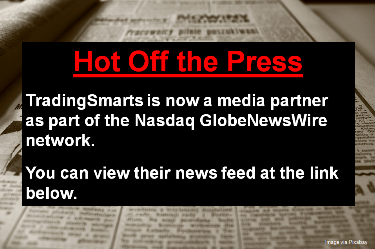 Trading news feed