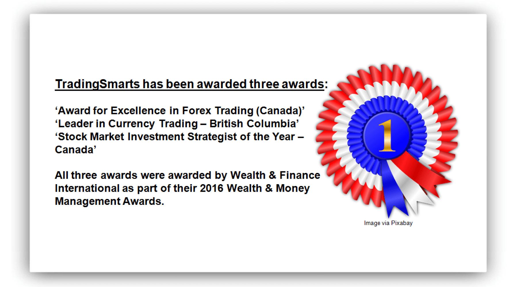 Forex broker awards