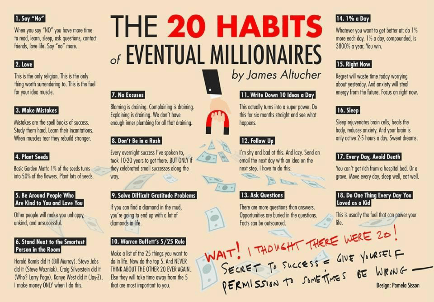 20 habits of eventual millionaires dating 4