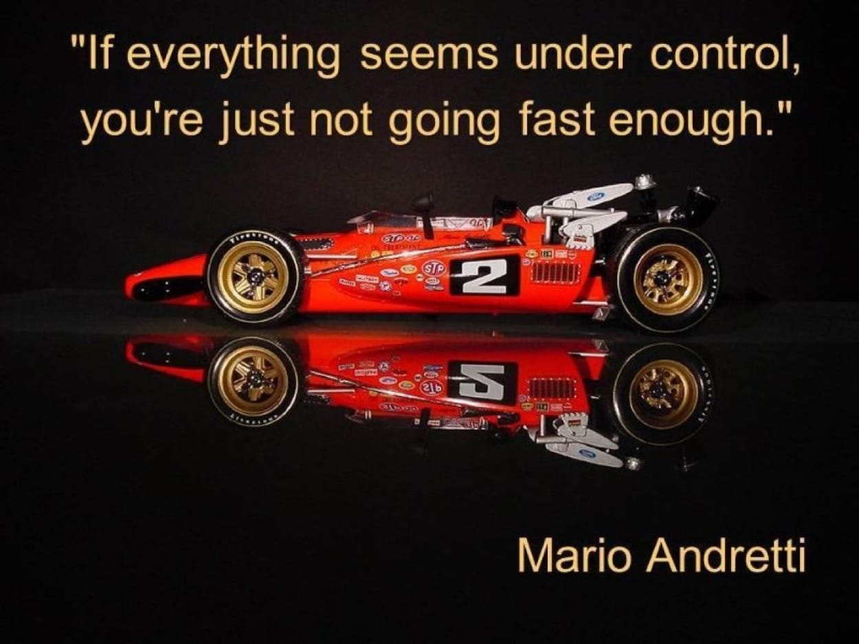 11 See Racing Car With Inspirational Quote From Andretti How To